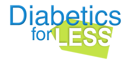 Diabetics For Less Logo